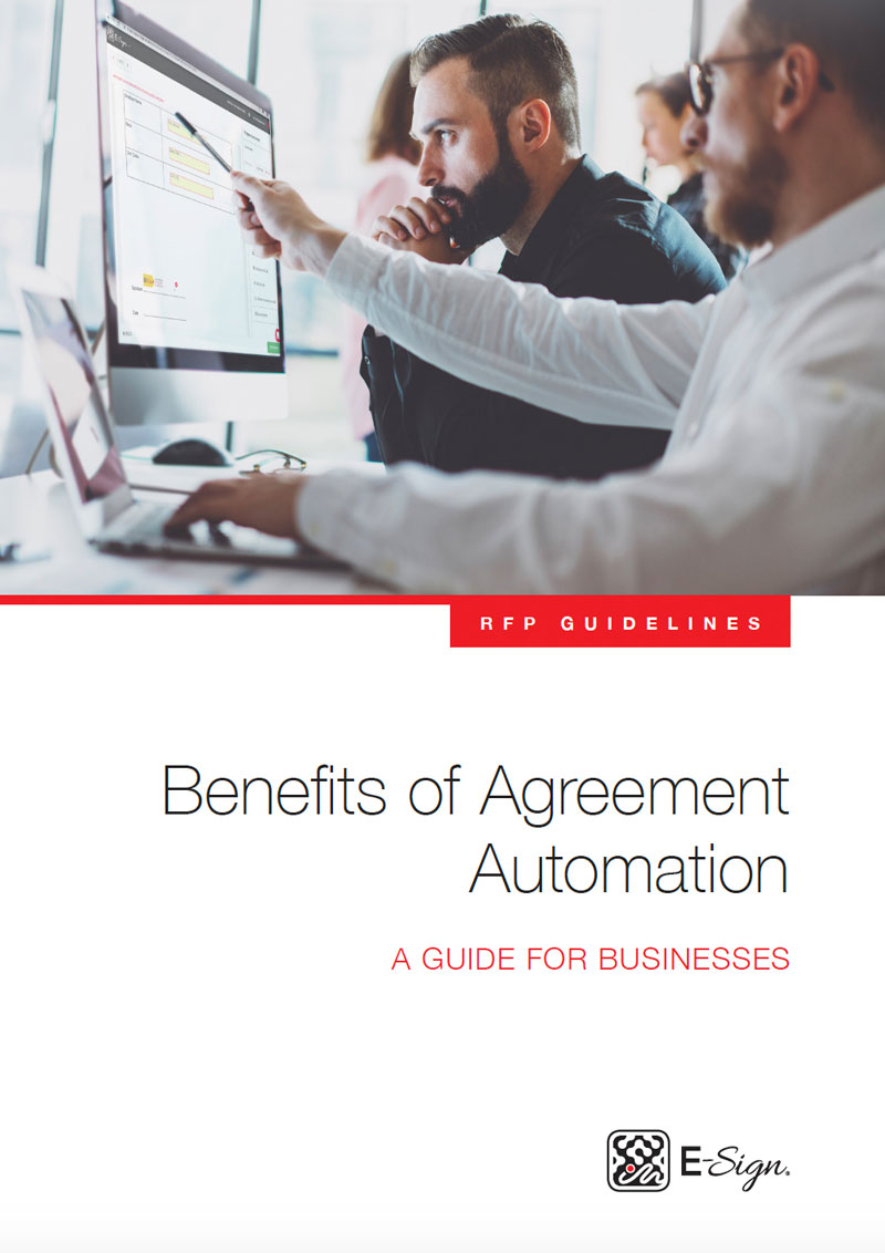 Benefits of Agreement Automation