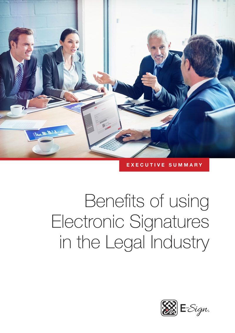 Benefits Of Using Electronic Signatures In The Legal Industry