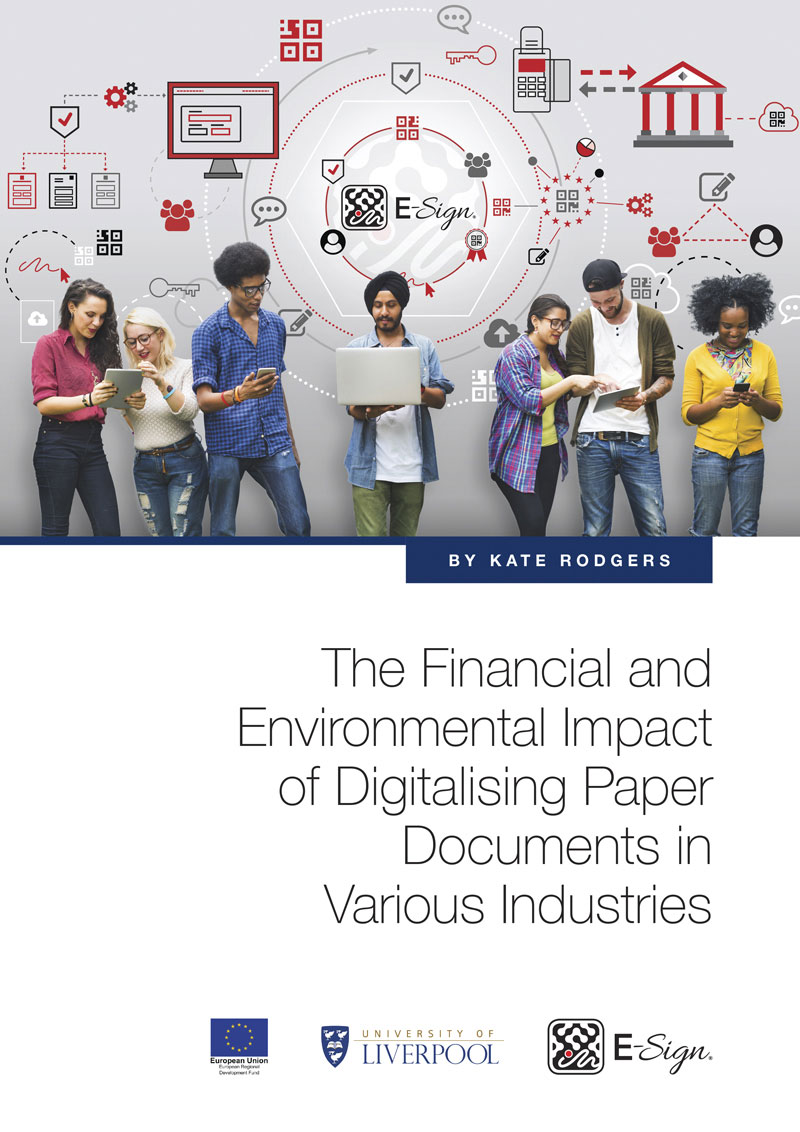 The Financial and Environmental Impact of Digitalising Paper Documents