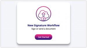 log into your electronic signature platform