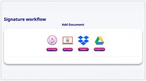 add your microsoft word document to e-sign platform